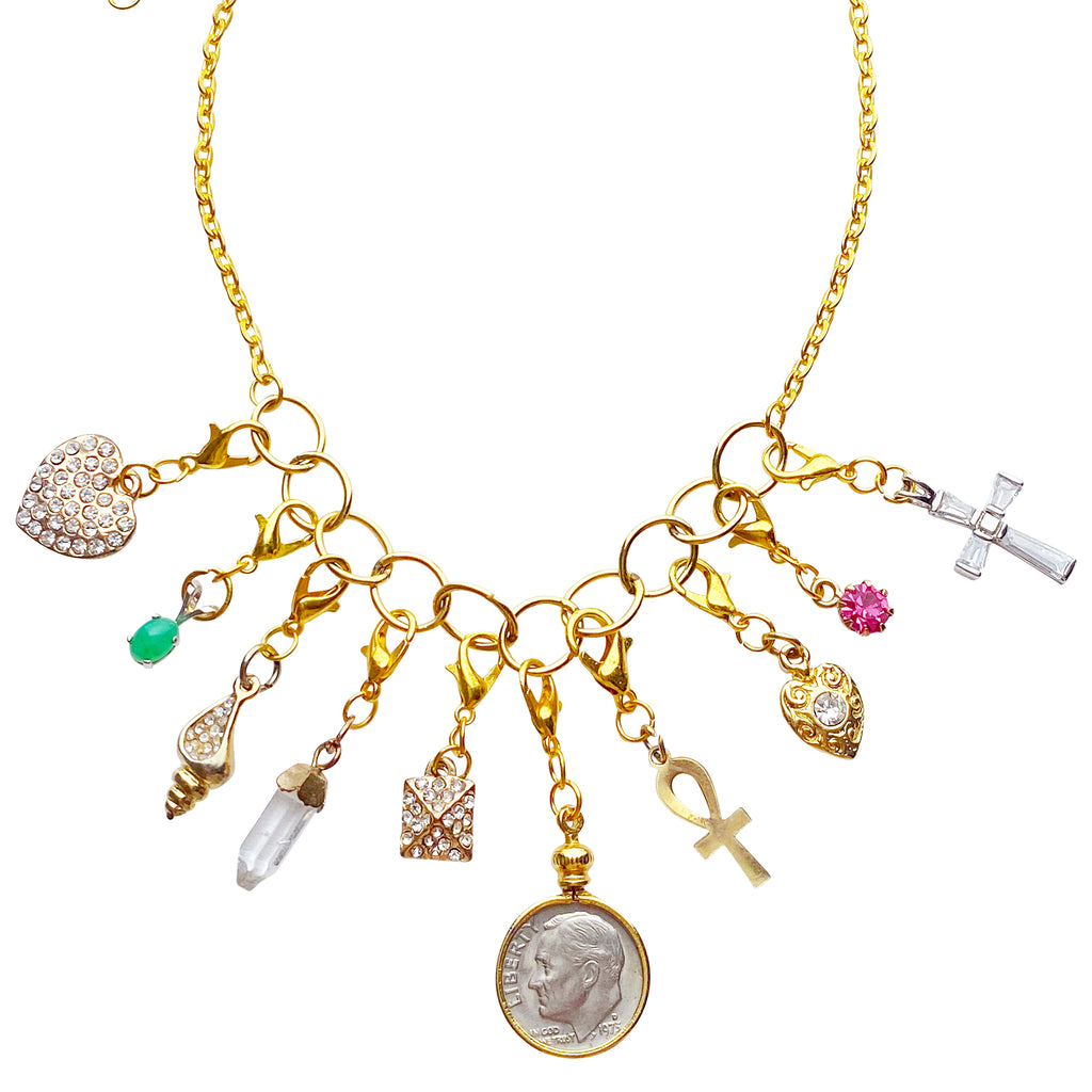 Remix Vintage Charm Necklace