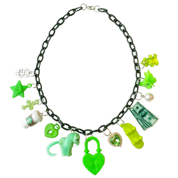 Lucky 13 Charm Necklace