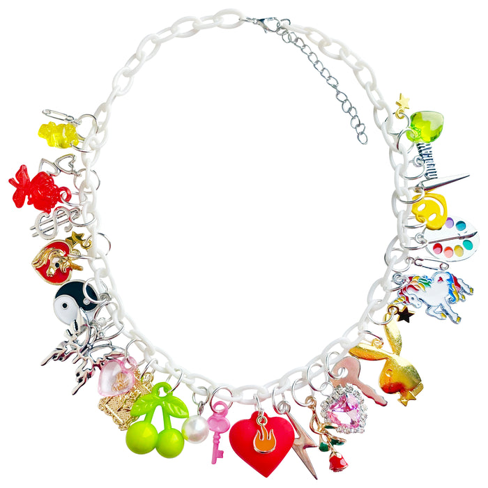 Hearts On Fire Charm Necklace