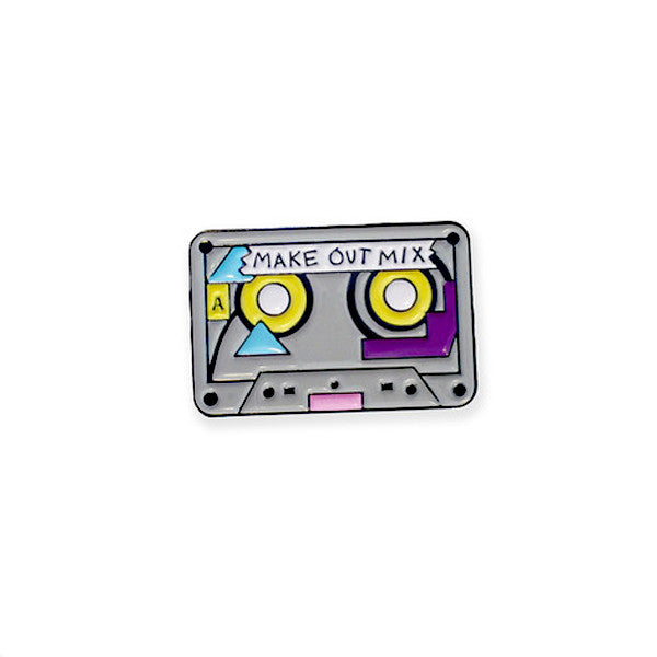 Make Out Mix Tape Pin