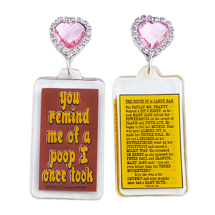 You Remind Me 80's Keychain Earrings