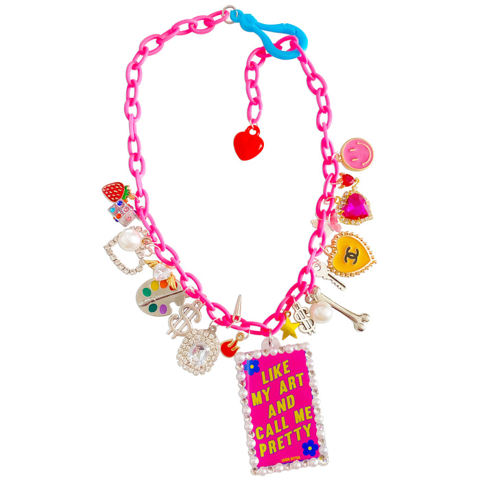 Call Me Pretty Charm Necklace