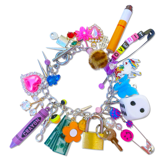 So Over It Charm Bracelet