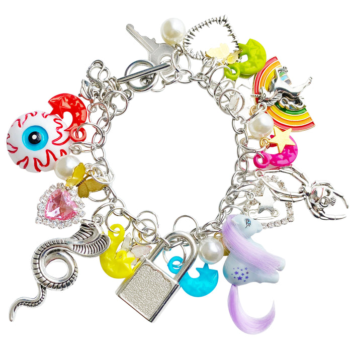 My Little Nightmare Charm Bracelet