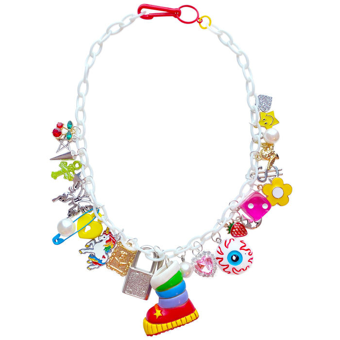 Rainbow Brite Charm Necklace