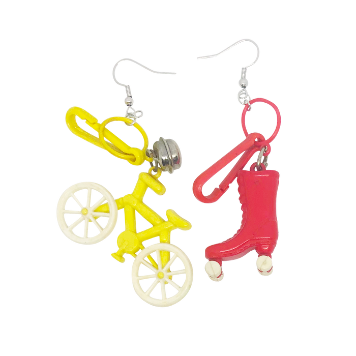Vintage Ridin' Dirty Charm Earrings (4361235300435)