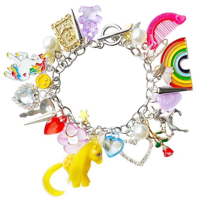 Walking On Sunshine Charm Bracelet
