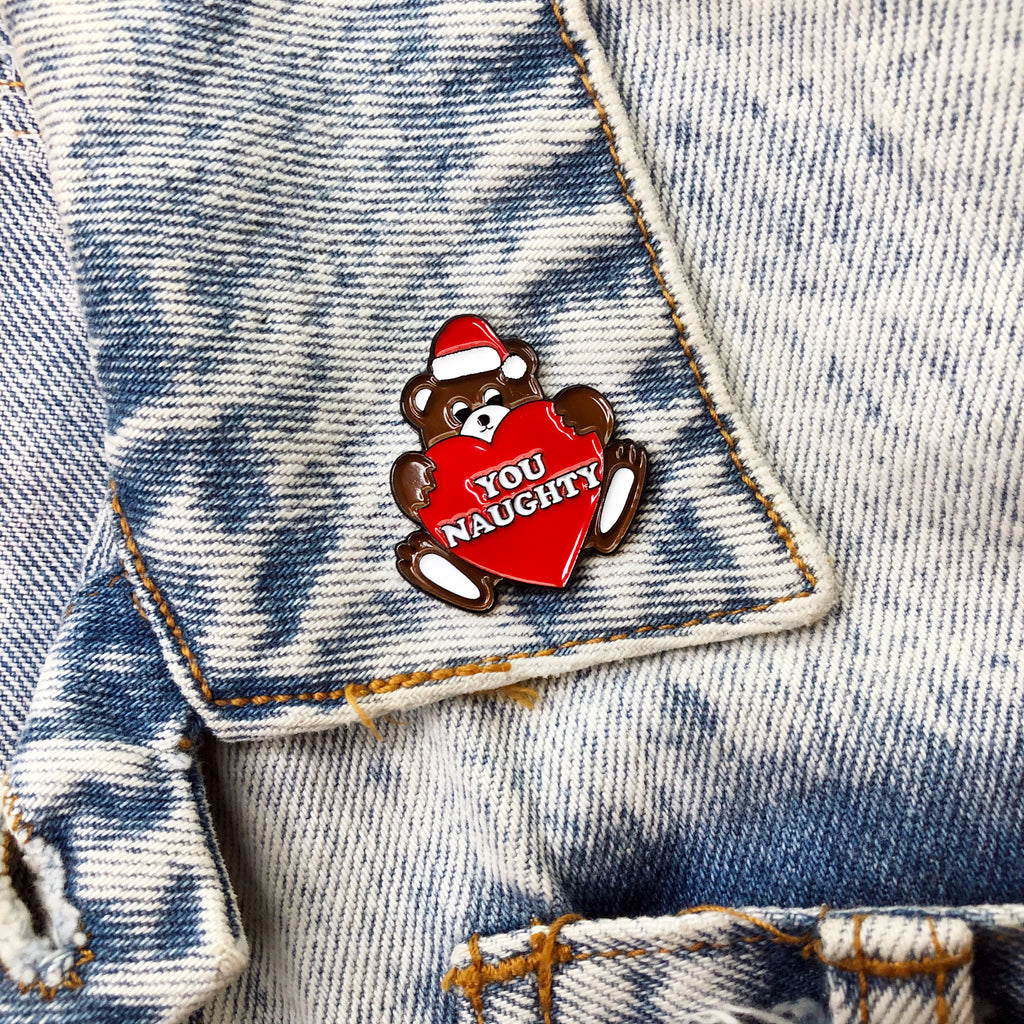 You Naughty Bear Pin