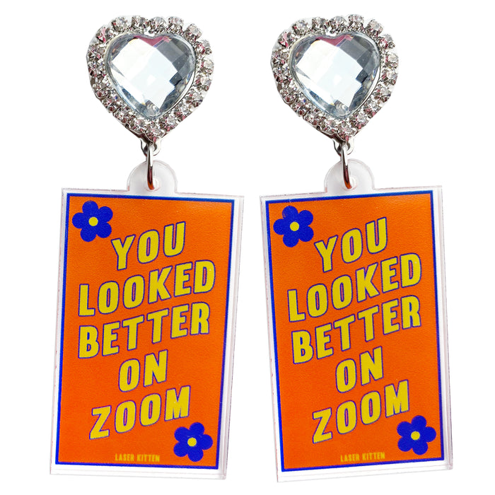 Zoom Doom Charm Earrings