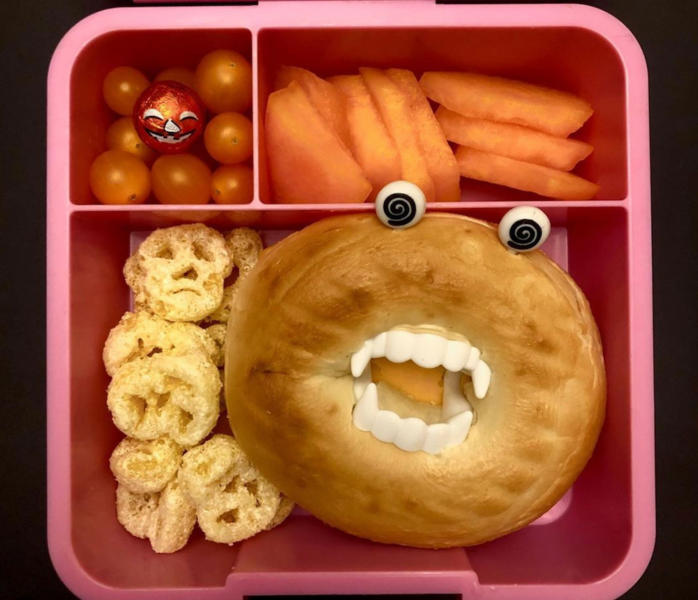 little lunch box co bento five with spooky halloween lunch ideas