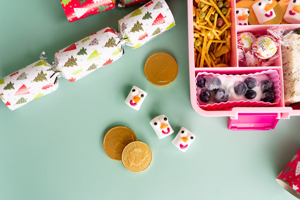 fun christmas bento lunch box idea for kids