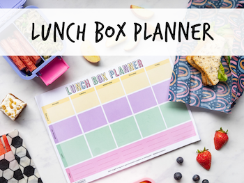 little lunch box co back to school planner