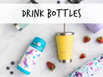little lunch box co back to school drink bottles