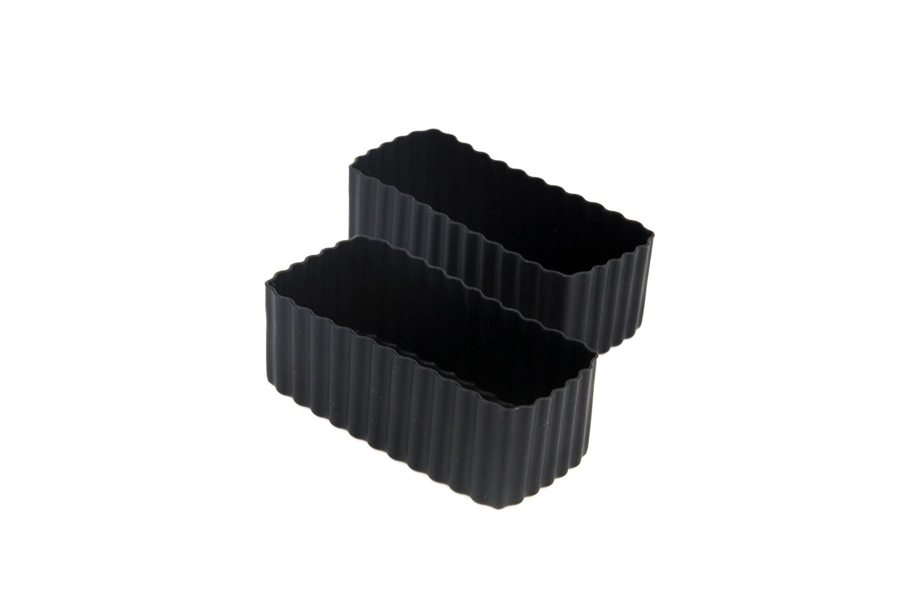 Bento Cups Rectangle - Black