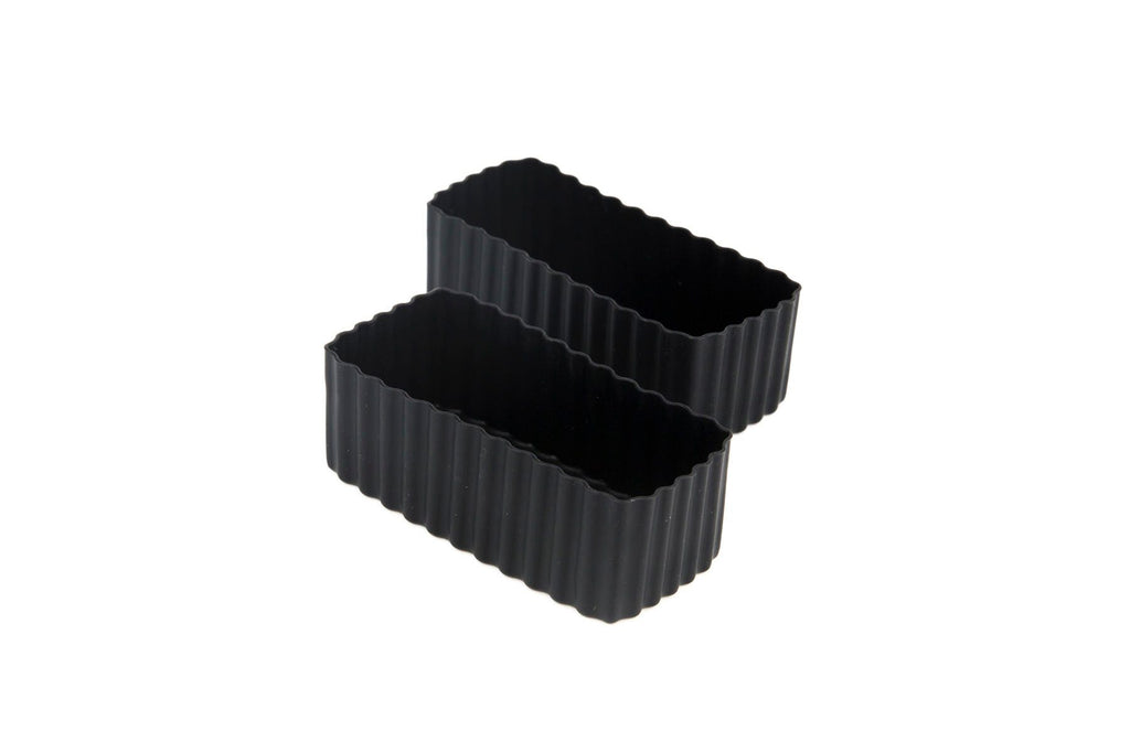 Bento Cups Rectangle - Black-Bento Cups-Little Lunch Box Co