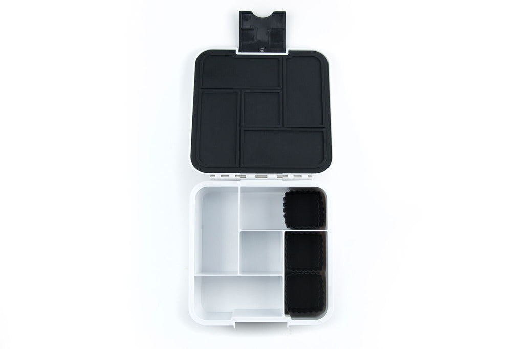 Bento Cups Square - Black-Bento Cups-Little Lunch Box Co