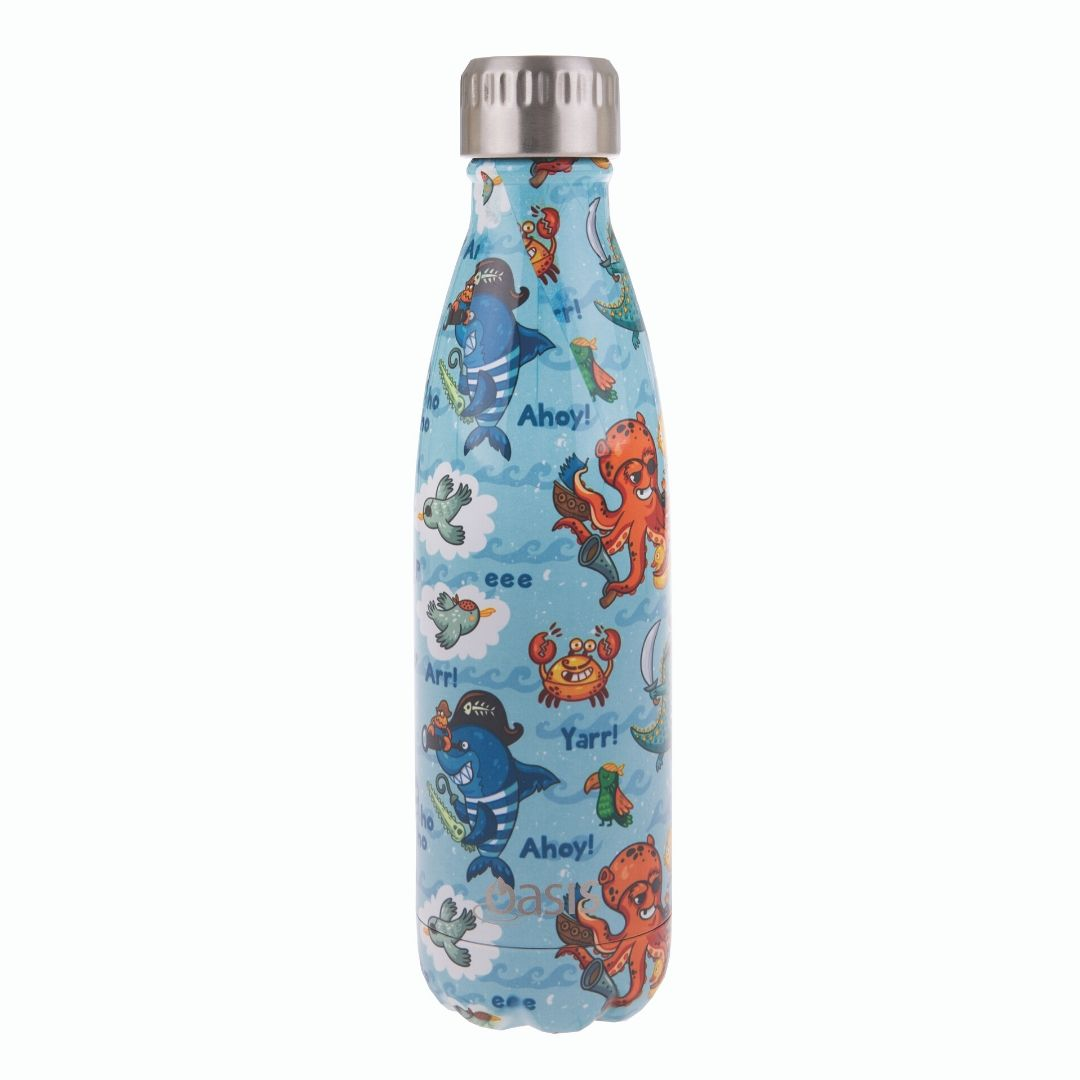Oasis Insulated Bottle 500ml - Pirate Bay