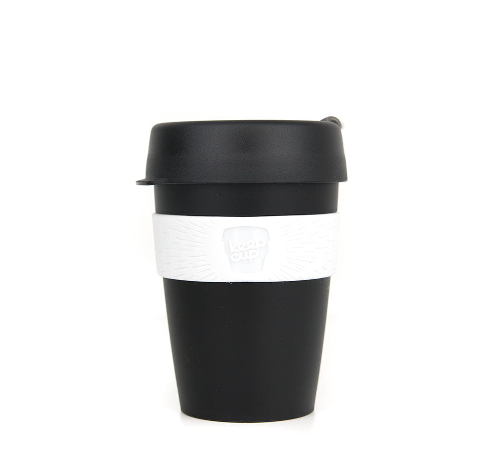KeepCup - Black 12oz-KeepCups-Little Lunch Box Co