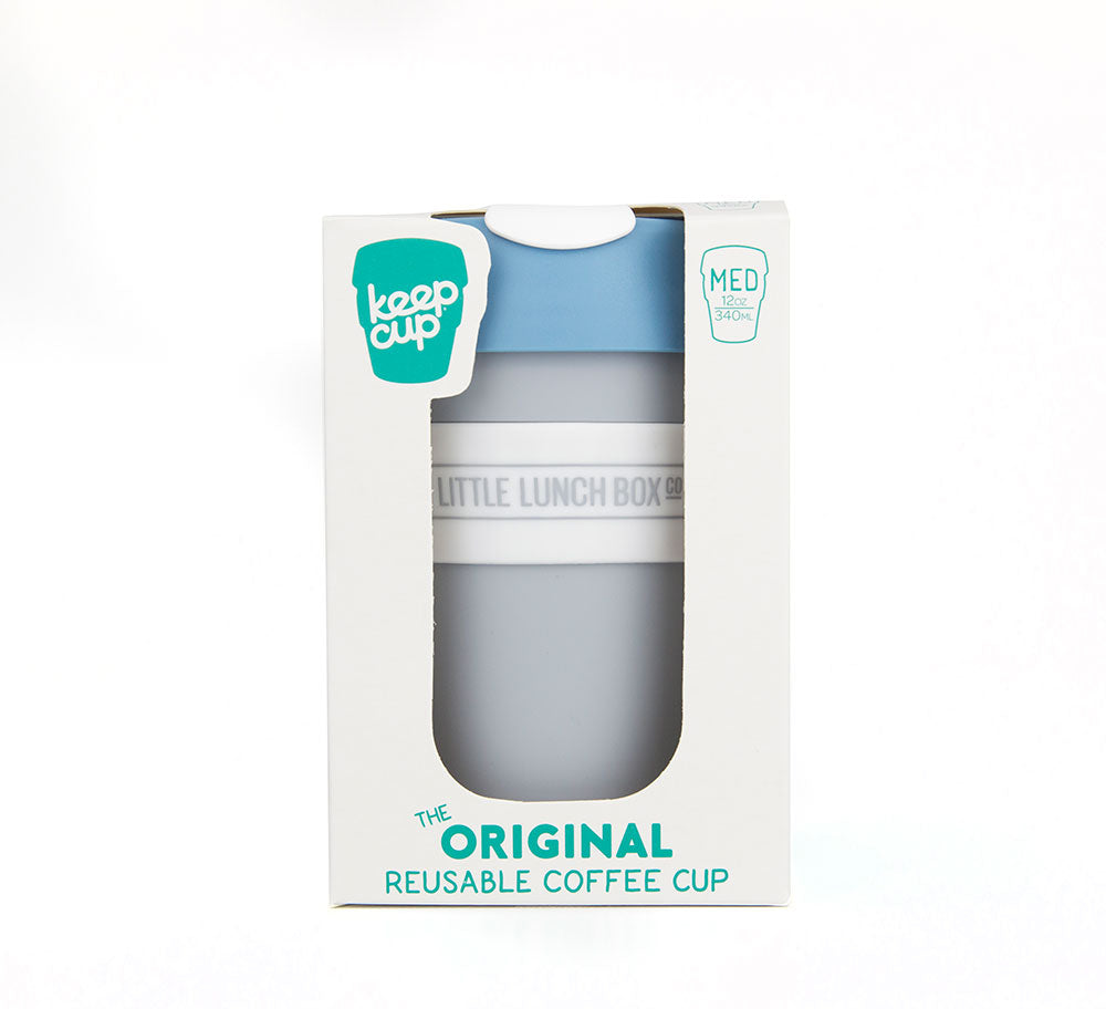 KeepCup - Blue/Grey 12oz-KeepCups-Little Lunch Box Co