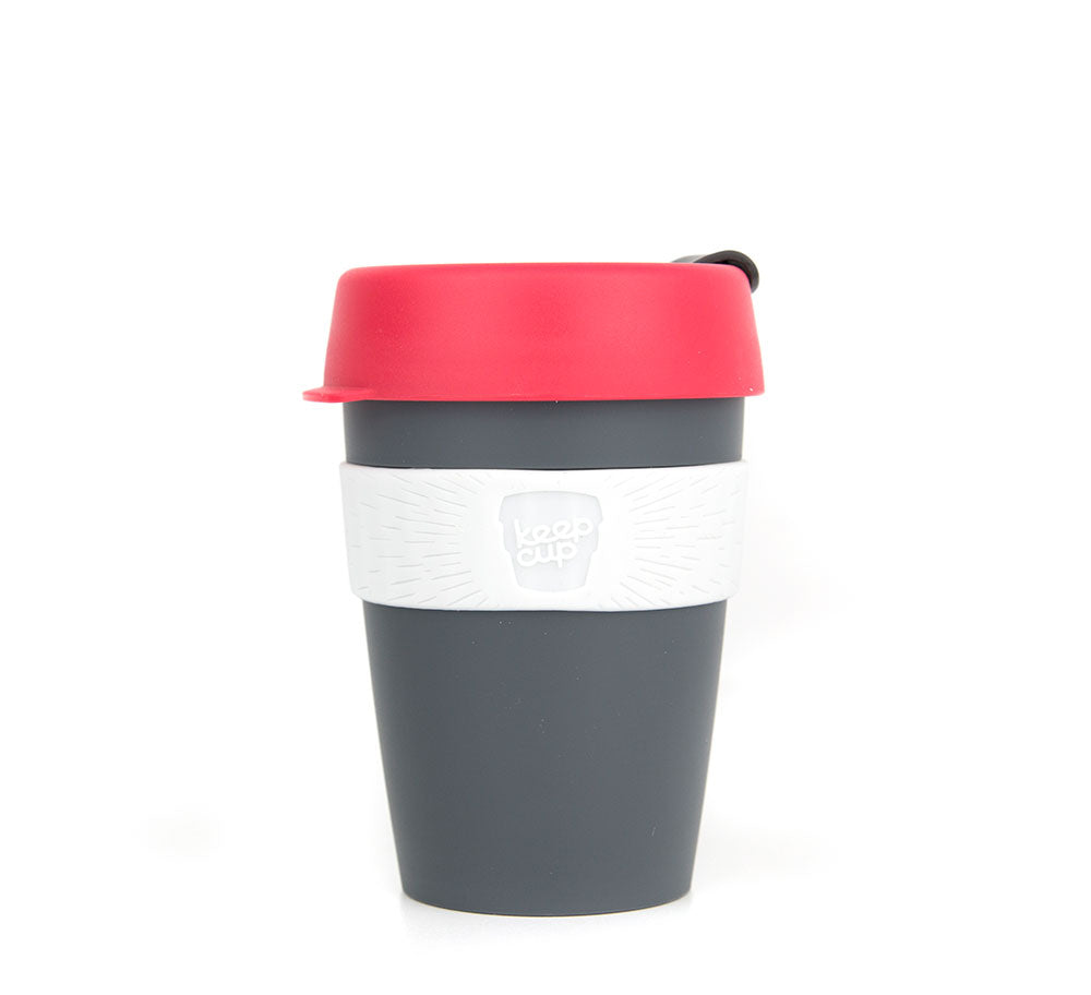 KeepCup - Watermelon/Charcoal 12oz-KeepCups-Little Lunch Box Co