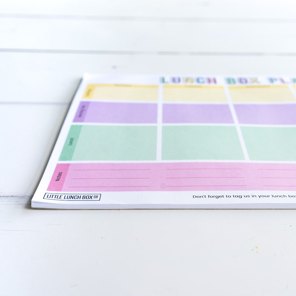 Lunch Box Planner Notepad