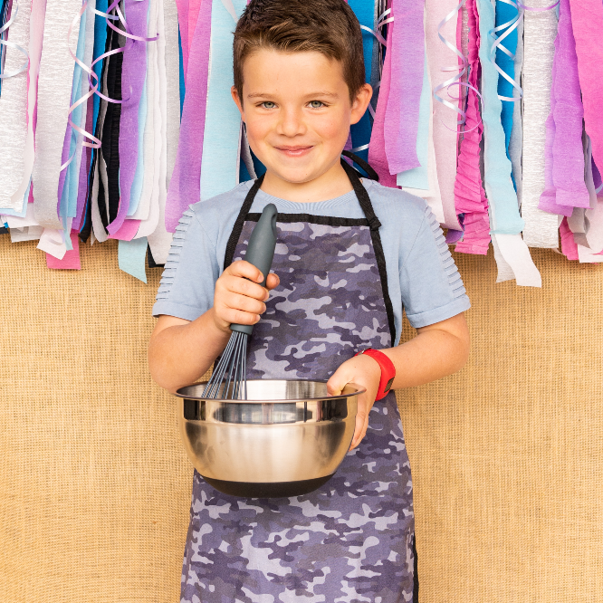 Kids Apron - Camo PRE-SALES-Apron-Little Lunch Box Co