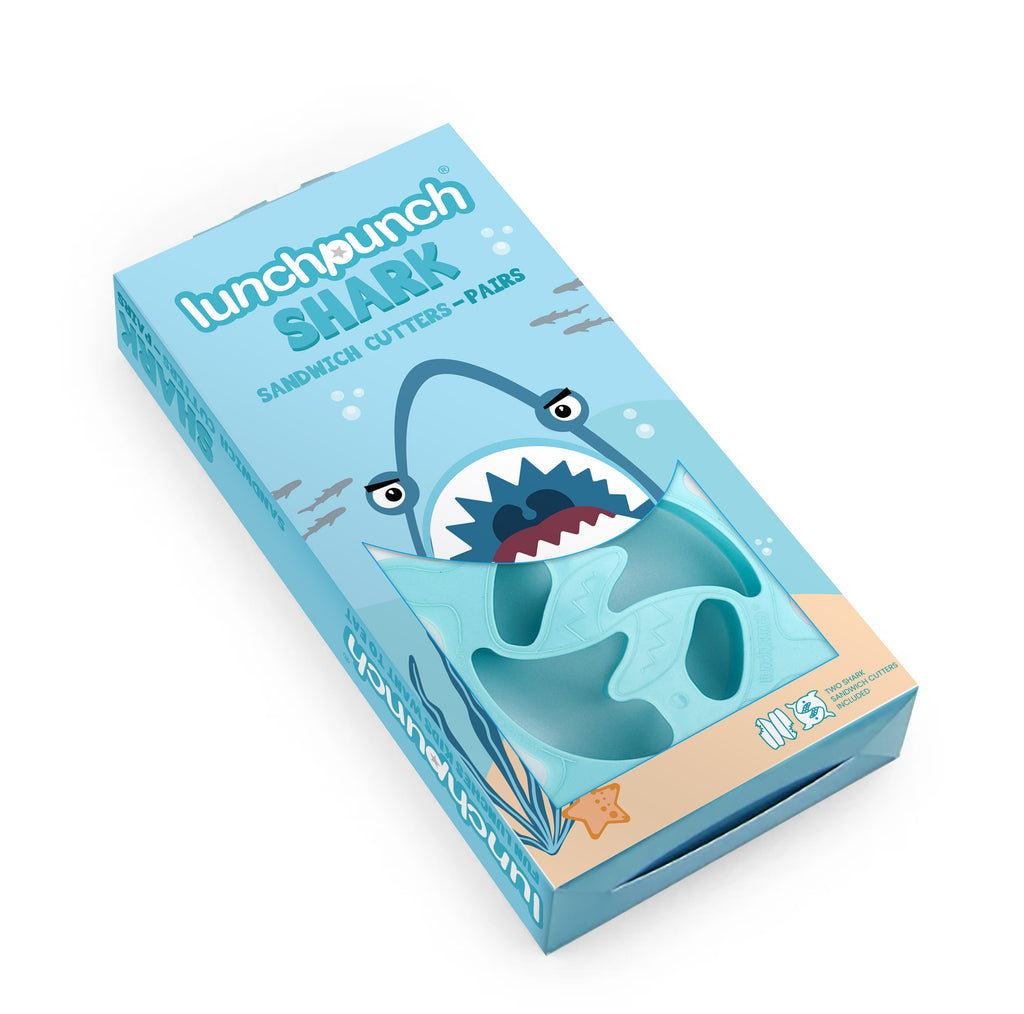 Lunch Punch Pairs - Shark-Lunch Cutters-Little Lunch Box Co