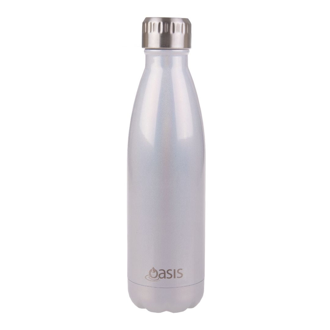 Oasis Insulated Bottle 500ml - Pearl Lustre