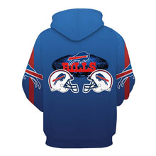 Load image into Gallery viewer, NFL football 3D digital print pullover hoodie