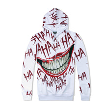 Load image into Gallery viewer, Funny cartoon anime clown 3D printed hooded sweater and pants suit