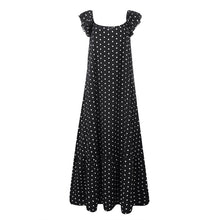 Load image into Gallery viewer, Sleeveless suspender Polka Dot Dress