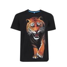 Load image into Gallery viewer, 3D Tiger Print short sleeve T-shirt