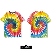 Load image into Gallery viewer, Astroworld tie dye t-shirt