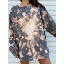 Load image into Gallery viewer, Tie dye long sleeve fashion sweatshirt