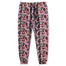 Load image into Gallery viewer, Skull print knitted casual trousers