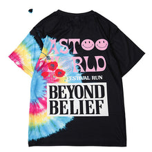 Load image into Gallery viewer, Astroworld beyond belief sicko streetwear tee