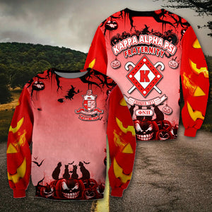 3D ALL OVER GHOST KAPPA ALPHA PSI SWEATER