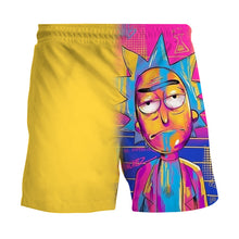 Load image into Gallery viewer, Anime summer loose casual quick-drying printed shorts