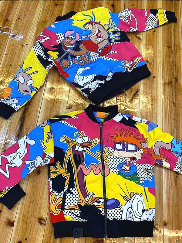 Nickelodeon jacket cartoon print fashion jacket