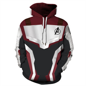 Avengers 4 printed sweatshirt Quantum concept warsuit men's sweatshirt