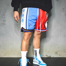 Load image into Gallery viewer, Color block stripe print streetwear fashion shorts