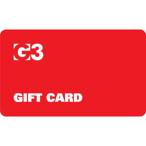 G3 Gift Card