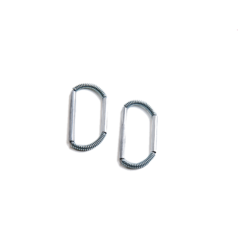 XXL (80-105 mm) Skin Tip Loop - Double bar (Pair)