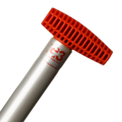 SpadeTECH Shovel Shaft Assembly T Grip - Red