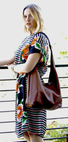 B33 BRAIDED HANDLE SHOULDER BAG