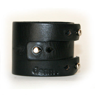 MW04 PRONG INTERLOCKING BAND MENS CUFF