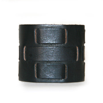 MW08 WIDE WOVEN BAND MENS CUFF