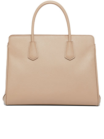 Medium Saffiano Leather Handbag