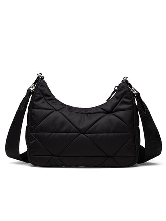 Padded Nylon Shoulder Bag