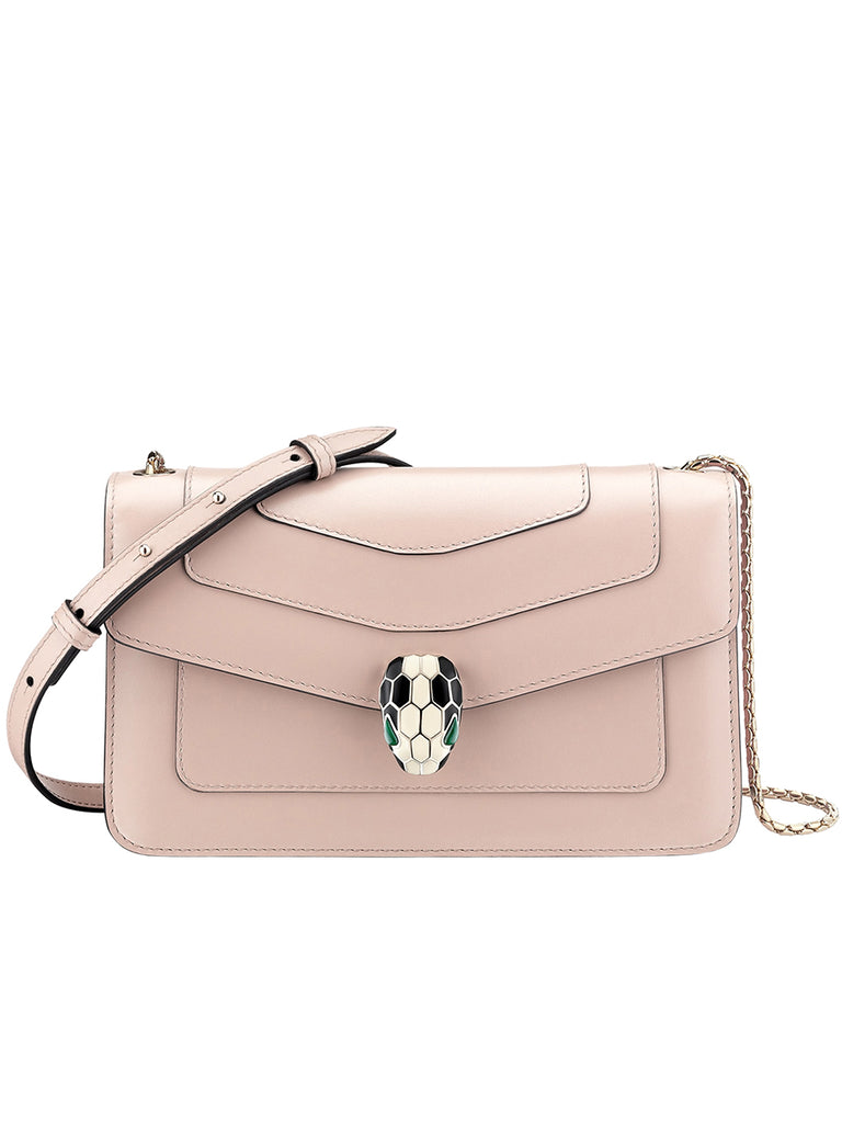 Serpenti Forever Crossbody Bag in Crystal Rose